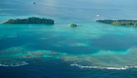 Sea-level rise claims five islands in Solomons