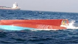 Fishing boat collided with a Maltese cargo ship