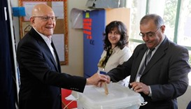 Lebanon votes for first time in six years