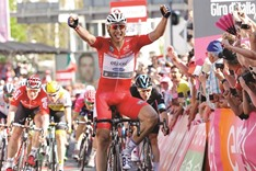 Kittel at the double on Giro d'Italia