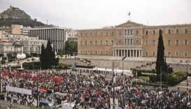 Thousands join protests ahead of key Greek vote