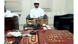 Man arrested for stealing jewellery and watches worth QR5mn
