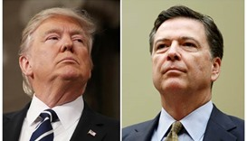 Trump defends firing of FBI director Comey