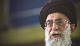 "Khamenei urges Iran's military to ""scare off"" enemy"