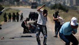 Palestinian shot dead in West Bank clash with Israelis