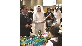 School students present projects at QU 'open day'