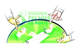 Indian police arrest three over IPL betting racket