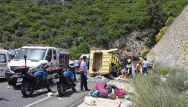 At least 23 killed in bus crash near Turkish sea resort