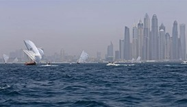 Traditional dhow race retraces Gulf pearl route