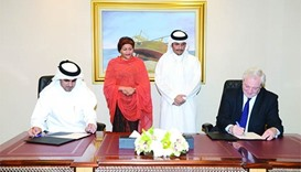 Qatar to provide $40mn for UN humanitarian affairs