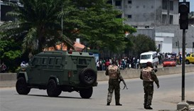 Heavy gunfire as mutiny grips Ivory Coast's main cities