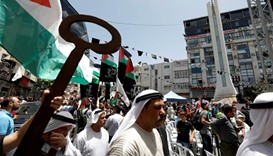 Clashes erupt in West Bank as Palestinians mark 'Nakba'