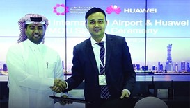 HIA, Huawei sign MoU for airport digital transformation