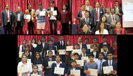 Teenagers dazzle at speech contest