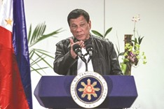 Duterte open to pacts for exploring South China Sea