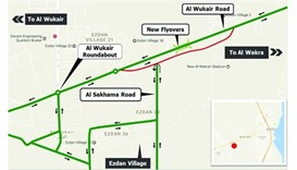 New Wukair road set to open on Friday