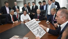 Turkish daily prints blank edition after two journalists detained