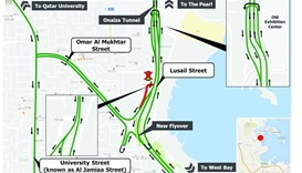 New Flyover on Lusail Expressway to open on Friday