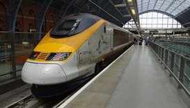 Man dies after climbing on top of Eurostar train in Paris