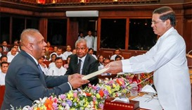 Sri Lankan president switches ministers in reshuffle