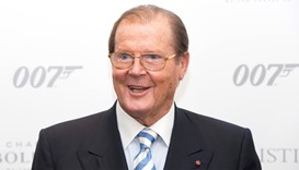 British actor Roger Moore