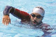Egyptian becomes first amputee to swim across Red Sea Gulf