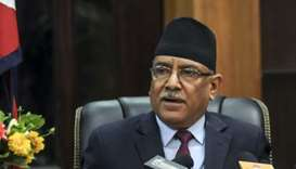 Nepalese Prime Minister Pushpa Kamal Dahal, also known as Prachanda