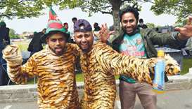 Bangladesh cricket supporters
