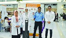 QU collaborates on IPE smoking awareness drive