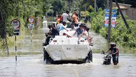Lanka steps up flood relief as toll hits 113