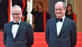 General Delegate of the Cannes Film Festival Thierry Fremaux (L) and President of the Cannes Film Fe