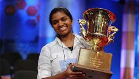 US spelling bee champs find success after sting of defeat
