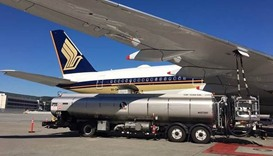 Singapore Airlines launches green-package biofuel flights