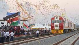 Kenya opens Chinese-built railway linking port to capital