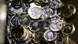 New UK one-pound coins fetching a mint on eBay