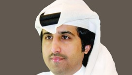Qatar Chamber director general Saleh bin Hamad al-Sharqi.