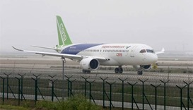 Made-in-China passenger jet set to take wing