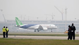 China's C919 jet lands successfully after maiden flight