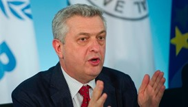 The United Nations' High Commissioner for Refugees (UNHCR) Filippo Grandi