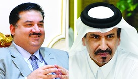 Pakistan's Minister for Commerce and Trade Khurram Dastagir Khan and Qatar Chamber vice-chairman Moh