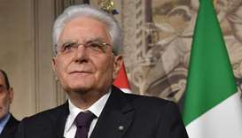 Italy's president begins talks aiming to solve political crisis