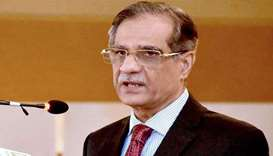 Pakistan Supreme Court Chief Justice Mian Saqib Nisar
