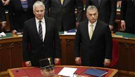Hungary's Orban sworn in as PM, eyes 20 years in power