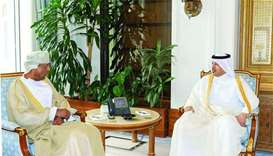 Prime Minister meets Oman's finance minister