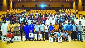 Rota congratulates workers, volunteers for literacy drive
