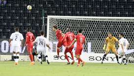 Amir Cup semi-final between Al Sadd and Al Duhail