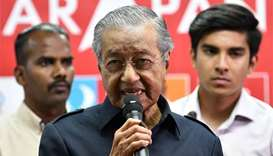 Mahathir axes high-speed rail link with Singapore