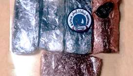 Customs foil hashish smuggling bid at Ruwais Port