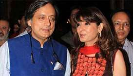 Prominent Indian MP Shashi Tharoor charged over wife's death