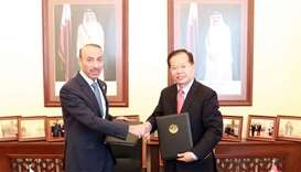 Qatar and China sign pact on participation in horticulture expo